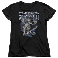 Masters Of The Universe Straight Outta Grayskull Women's T-Shirt