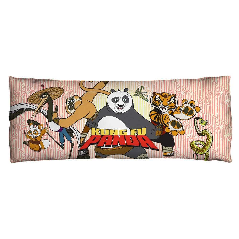 Kung Fu Panda - Kung Fu Group Body Pillow