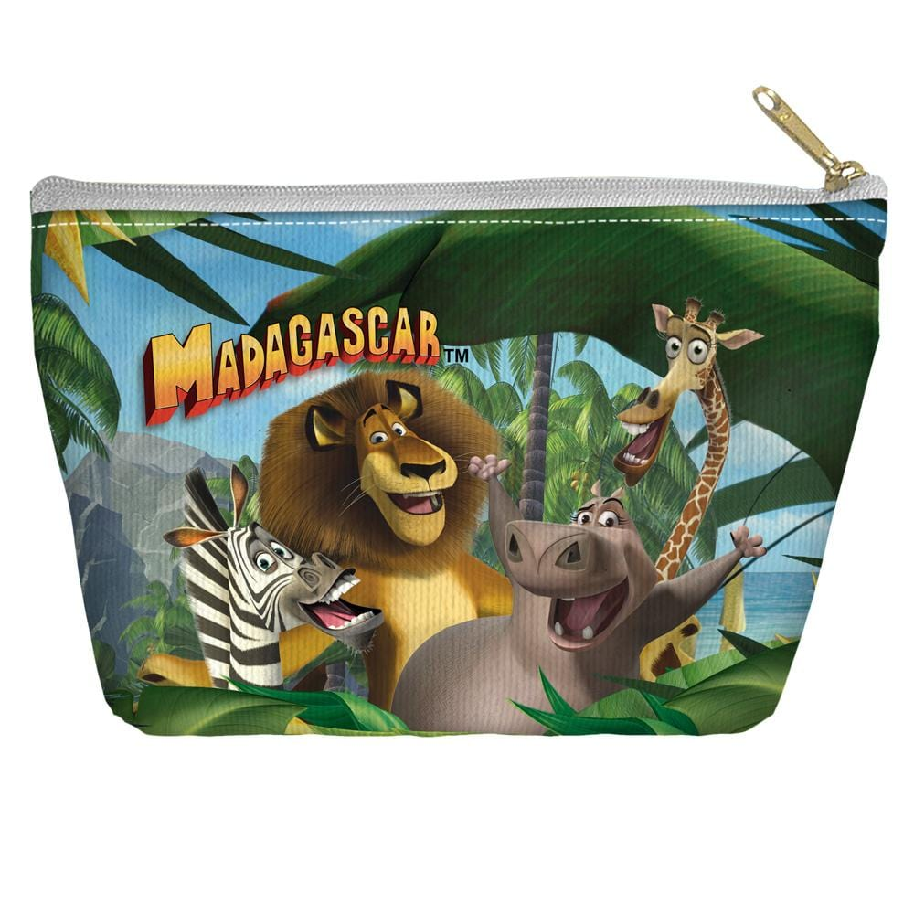 Madagascar - Jungle Time Tapered Bottom Pouch