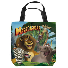 Madagascar - Jungle Time Tote Bag