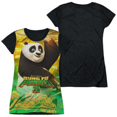 Kung Fu Panda - Po And Friends Junior All Over Print 100% Poly T-Shirt
