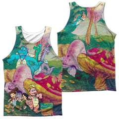 Dragon Tales - Mushroom Meadow Adult Tank Top