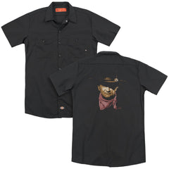 John Wayne Splatter Adult Work Shirt