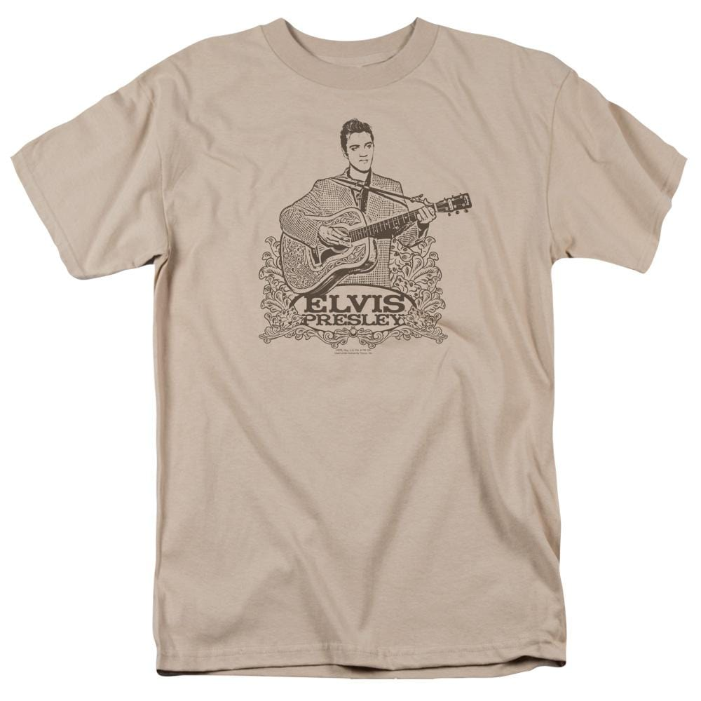 Elvis Laurels Adult Regular Fit T-Shirt
