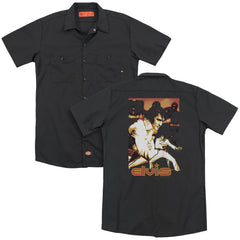 Elvis Showman Adult Work Shirt