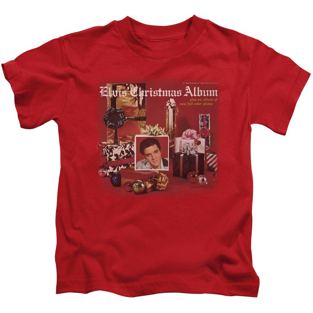 Elvis - Christmas Album Kids T-Shirt (Ages 4-7)