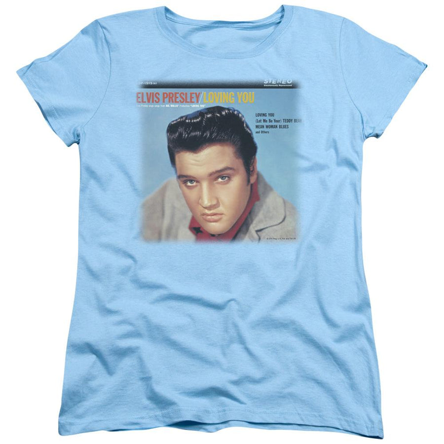 Elvis Presley Loving You Soundtrack Women's T-Shirt