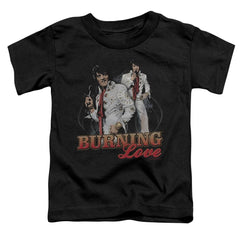 Elvis Burning Love Toddler T-Shirt