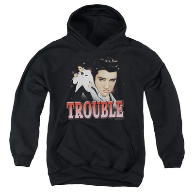 Elvis Presley Trouble Youth Hoodie (Ages 8-12)