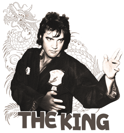 Elvis Presley Fighting King Kid's T-Shirt (Ages 4-7)