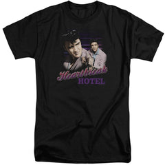 Elvis Heartbreak Hotel Adult Tri-Blend T-Shirt