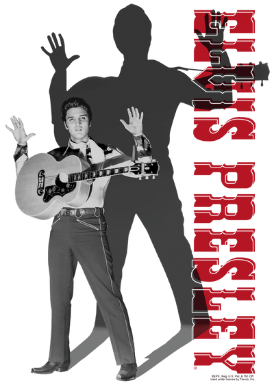 Elvis Presley Look No Hands Kid's T-Shirt (Ages 4-7)