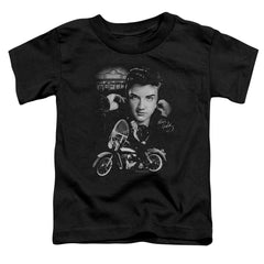Elvis The King Rides Again Toddler T-Shirt