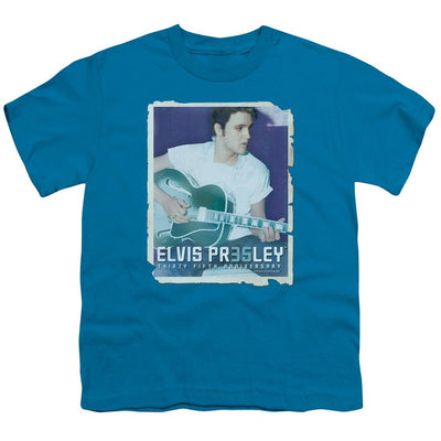 Elvis Presley 35 Guitar Youth T-Shirt (Ages 8-12)