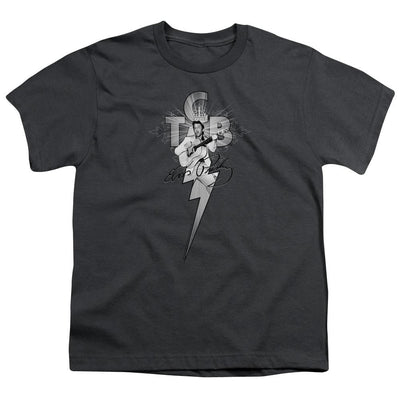 Elvis Presley Tcb Ornate Youth T-Shirt (Ages 8-12)