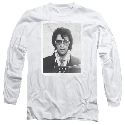 Elvis Presley Framed Men's Long Sleeve T-Shirt