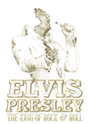 Elvis Presley Golden Men's Regular Fit T-Shirt