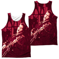 Elvis Scratched 68 Adult Tank Top