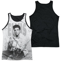Elvis - Play Me A Song Adult Tank Top