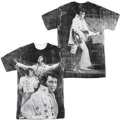 Elvis Legendary Performance Adult All Over Print 100% Poly T-Shirt