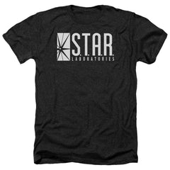 The Flash S.t.a.r. Adult Regular Fit Heather T-Shirt