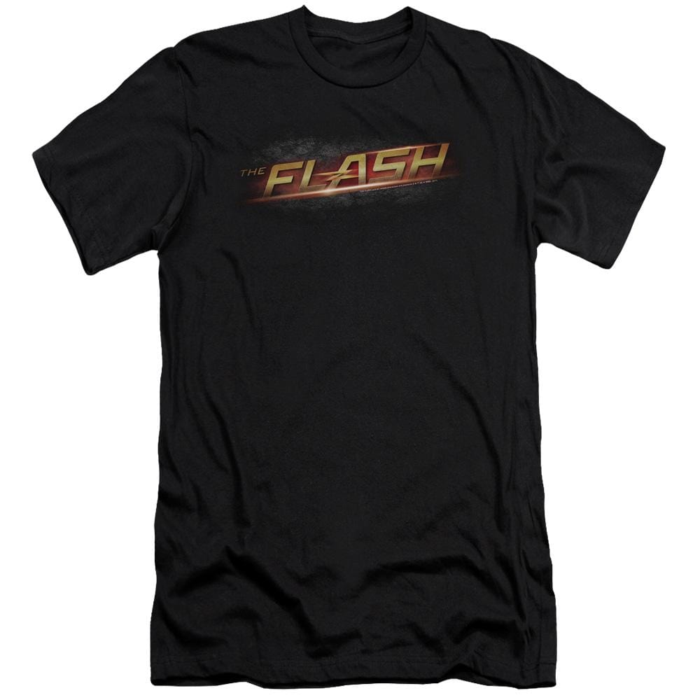 The Flash Logo Premium Adult Slim Fit T-Shirt