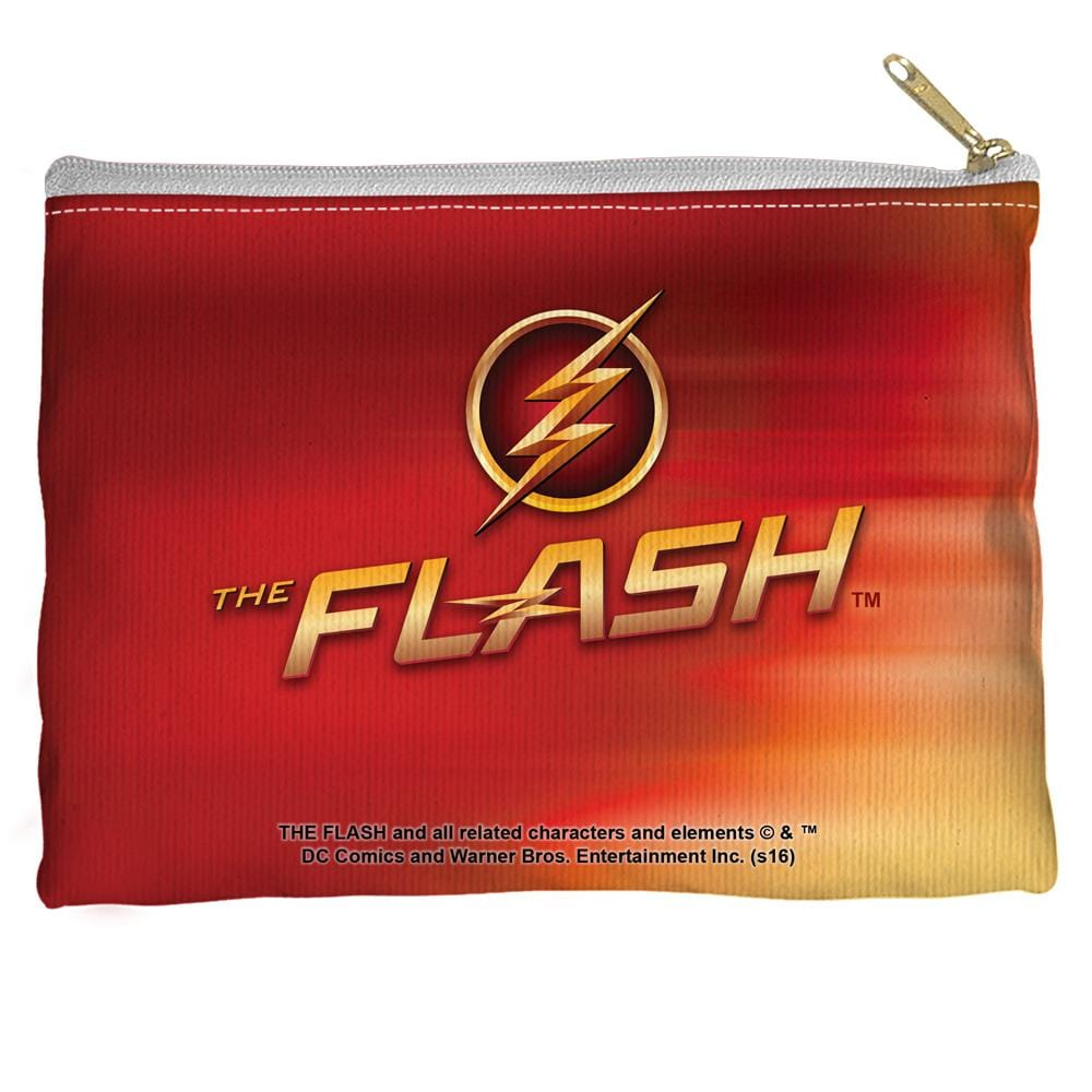The Flash - Tv Logo Straight Bottom Pouch