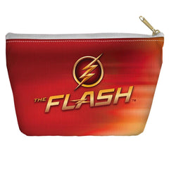 The Flash - Tv Logo Tapered Bottom Pouch