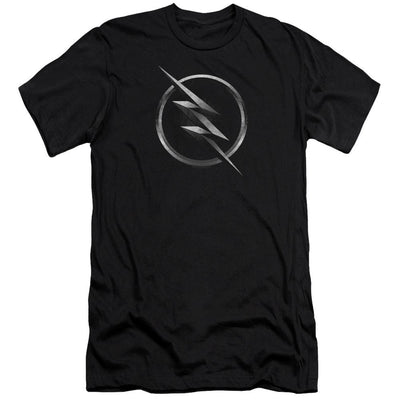 The Flash Zoom Logo Men's Slim Fit T-Shirt