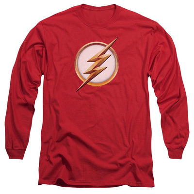 The Flash Season 4 Logo Men's Long Sleeve T-Shirt