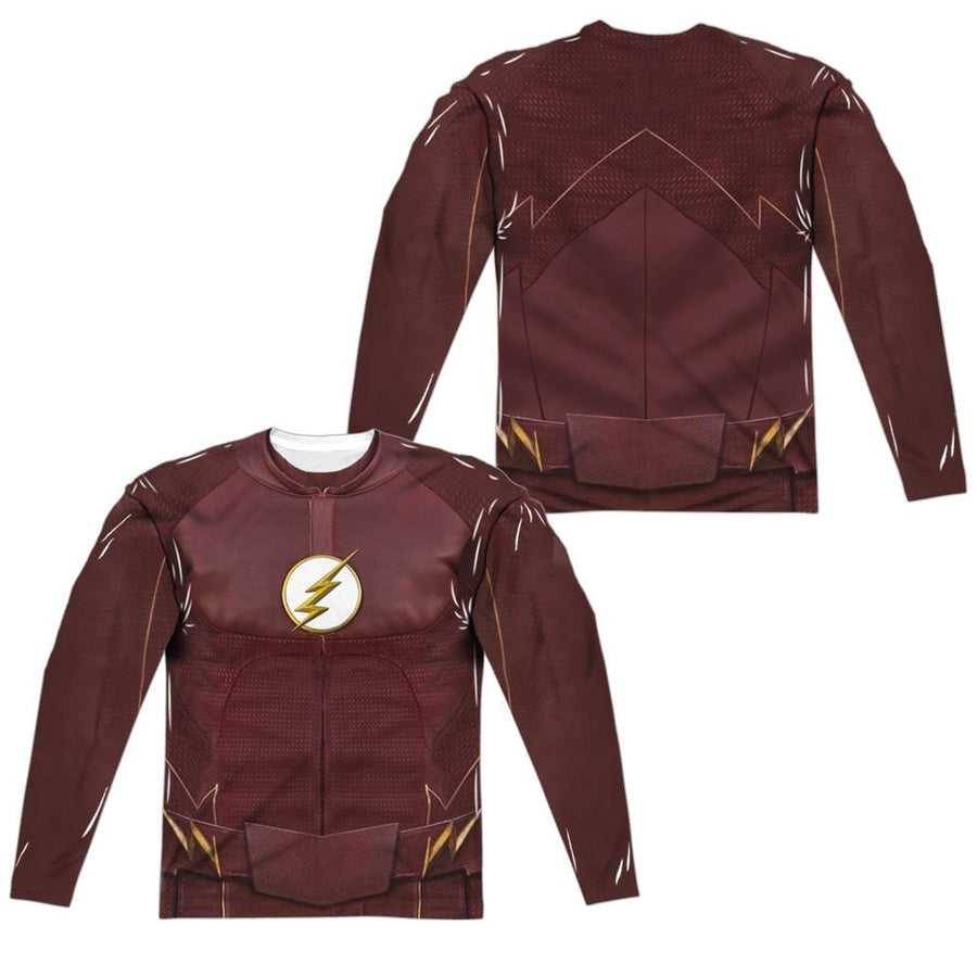 The Flash Season Four Uniform Men's All-Over Print Long Sleeve T-Shirt