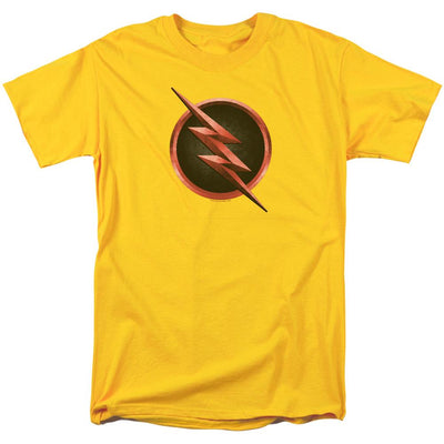 The Flash Reverse Flash Logo Men's Regular Fit T-Shirt