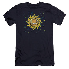 Garfield Celestial Premium Adult Slim Fit T-Shirt