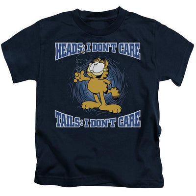 Garfield Heads Or Tails Kid's T-Shirt (Ages 4-7)