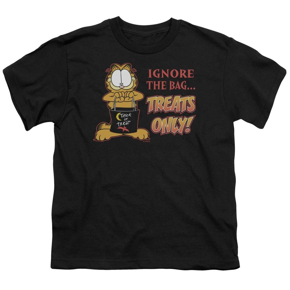 Garfield Treats Only Youth T-shirt