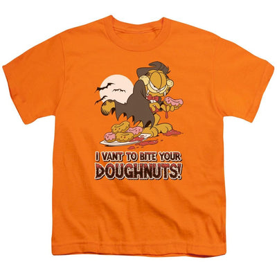 Garfield I Vant Doughnuts Youth T-Shirt (Ages 8-12)