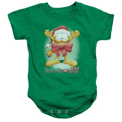Garfield Unwrap The Joy! Baby Onesie