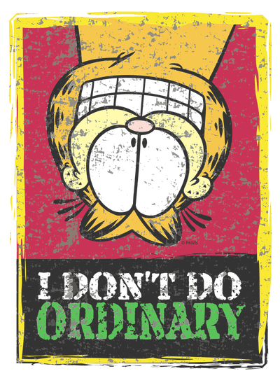 Garfield I Dont Do Ordinary Kid's T-Shirt (Ages 4-7)
