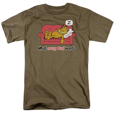 Garfield What Every Dad Wants Men's Regular Fit T-Shirt
