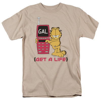 Garfield Get A Life Men's Regular Fit T-Shirt