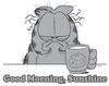 Garfield Good Morning Sunshine Youth T-Shirt (Ages 8-12)