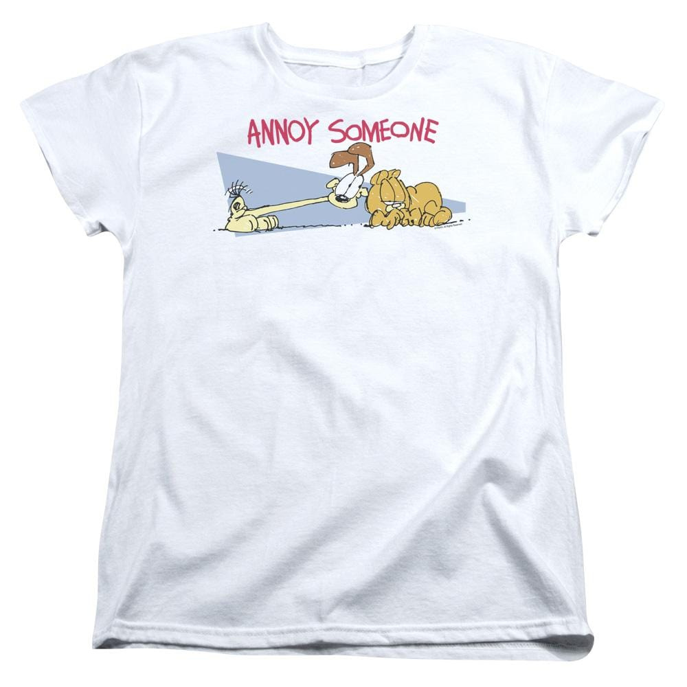 Garfield Annoy Someone Women's T-Shirt