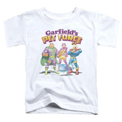 Garfield Heroes Await Toddler T-Shirt