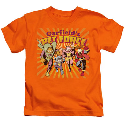 Garfield Pet Force Burst Kid's T-Shirt (Ages 4-7)