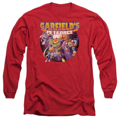 Garfield Pet Force Four Adult Long Sleeve T-Shirt