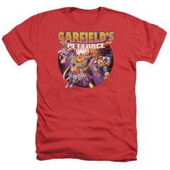 Garfield Pet Force Four Adult Regular Fit Heather T-Shirt
