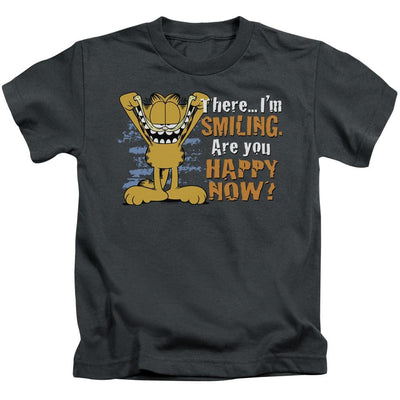 Garfield Smiling Kid's T-Shirt (Ages 4-7)