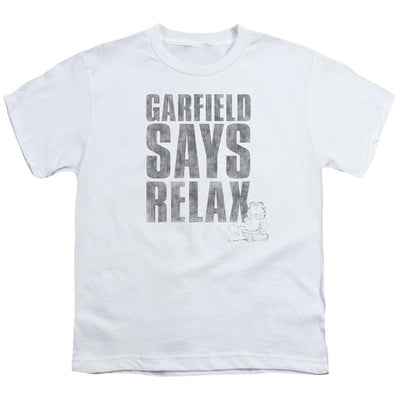 Garfield Relax Youth T-Shirt (Ages 8-12)