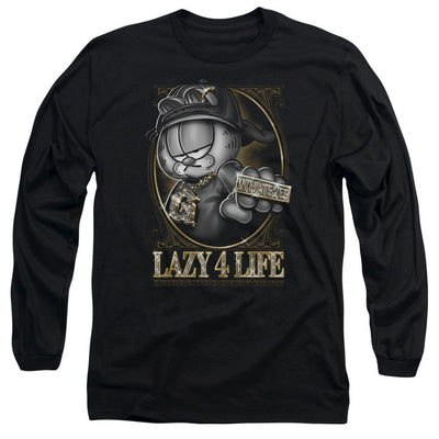 Garfield Lazy 4 Life Men's Long Sleeve T-Shirt