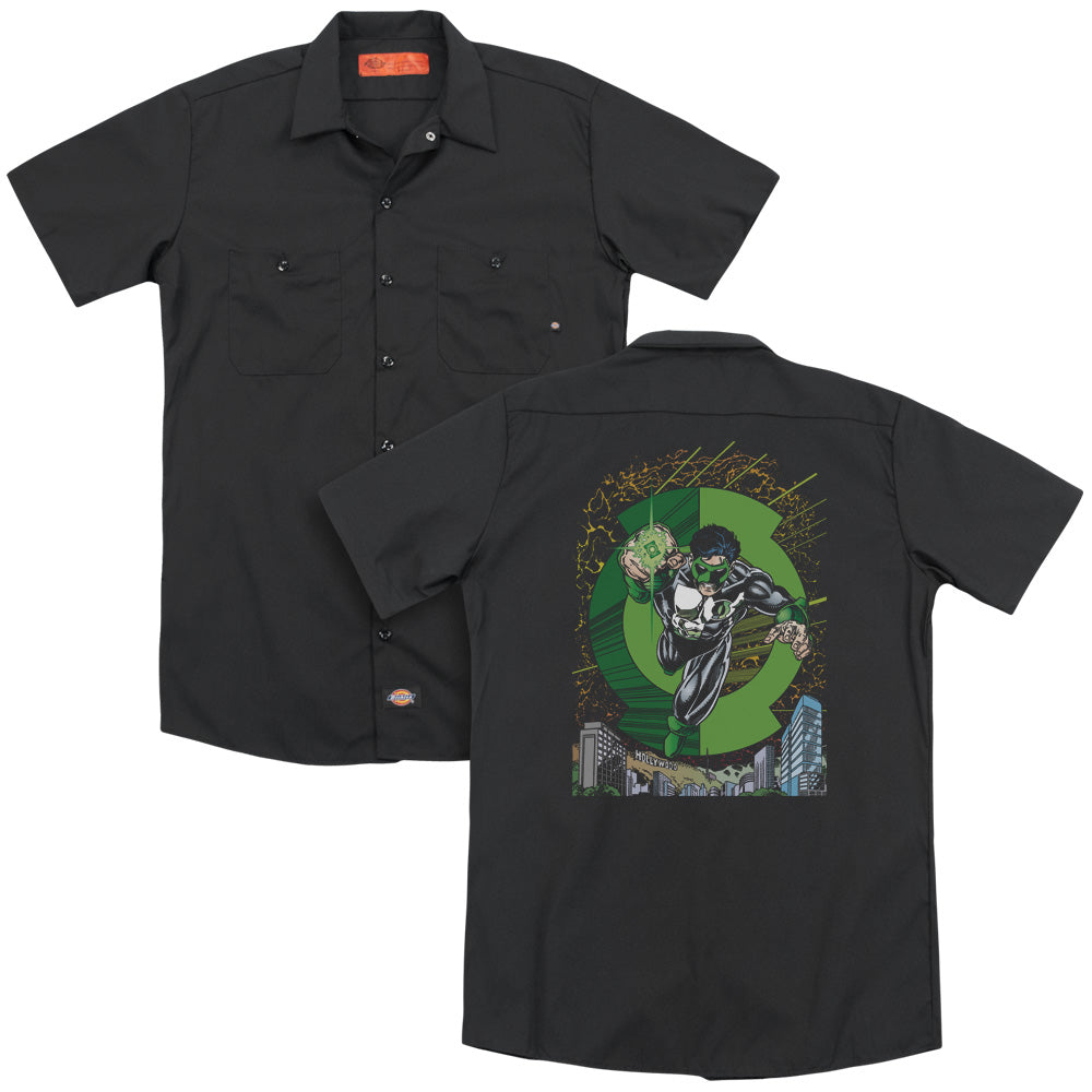 Green Lantern Gl #51 Cover Adult Work Shirt